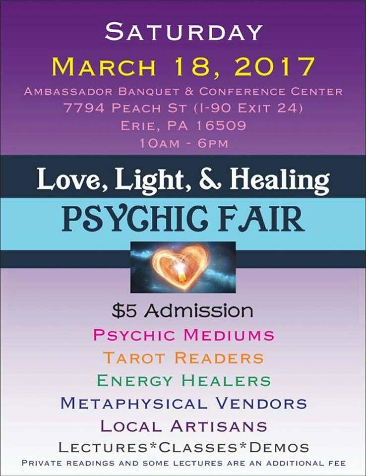 Love, Light & Healing Psychic Fair