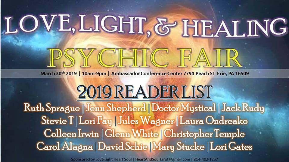 Love Light & Healing Psychic Fair - Talk with Colleen